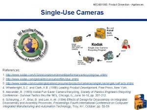 ME 240106 S Product Dissection Appliances SingleUse Cameras