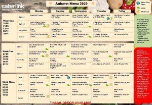 Added Plant Power Autumn Menu 2020 Vegan Monday