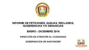 INFORME DE PETICIONES QUEJAS RECLAMOS SUGERENCIAS YO DENUNCIAS