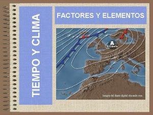 TIEMPO Y CLIMA FACTORES Y ELEMENTOS Imagen del