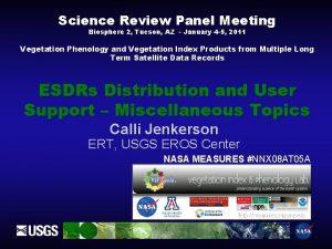 Science Review Panel Meeting Biosphere 2 Tucson AZ