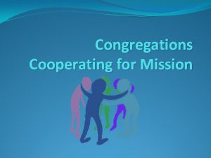 Congregations Cooperating for Mission Dwelling in the Word