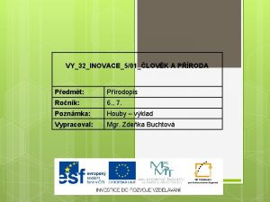 VY32INOVACE501LOVK A PRODA Pedmt Prodopis Ronk 6 7