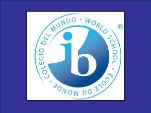 Diploma Program Curriculum Language Arts Group 1 Arts