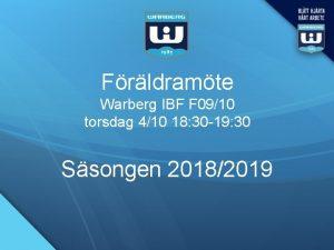 Frldramte Warberg IBF F 0910 torsdag 410 18
