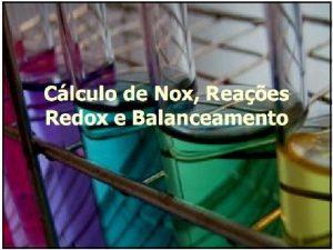 OXIDAO E REDUO Oxidao a PERDA de ELTRONS