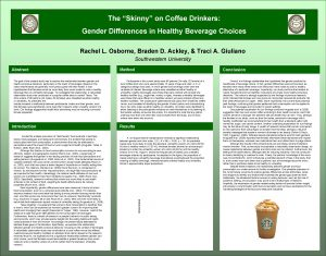 The Skinny on Coffee Drinkers Gender Differences in
