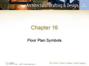 Chapter 16 Floor Plan Symbols Introduction Floor plans