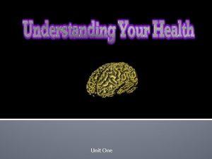 Unit One Vocabulary Health Wellness Physical Health Emotional