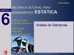 Nona Edio MEC NICA VETORIAL PARA CAPTULO 6