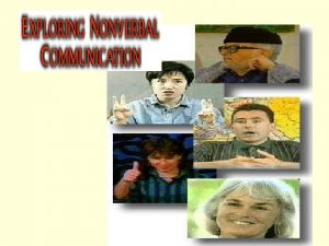 Nonverbal Communication Expresses Immediacy Responsiveness Synchrony Non verbal