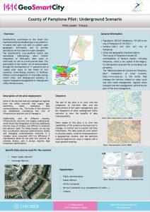 County of Pamplona Pilot Underground Scenario Pilot Leader