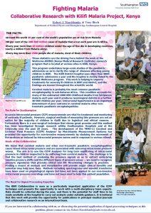 Fighting Malaria Collaborative Research with Kilifi Malaria Project