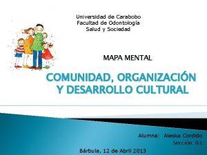 Universidad de Carabobo Facultad de Odontologa Salud y
