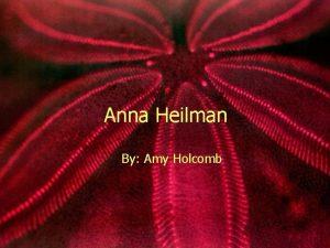Anna Heilman By Amy Holcomb Anna Heilman Before