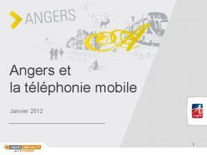 Angers et la tlphonie mobile Janvier 2012 1