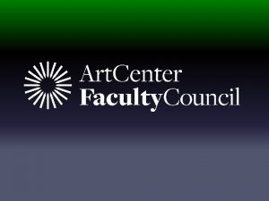 2015 FACULTY PROJECT GRANT Formerly Faculty Enrichment Grant