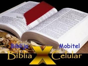 A BBLIA E O CELULAR Biblija Mobitel Zamisli