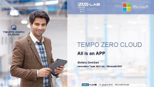 Microsoft TEMPO ZERO CLOUD All is an APP