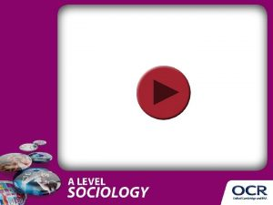 A Level Sociology Identity and hybrid identity Objectives
