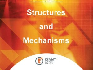 Structures and Mechanisms Cam and Follower The cam