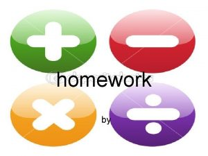 homework by Mental maths partitioning When doing mental