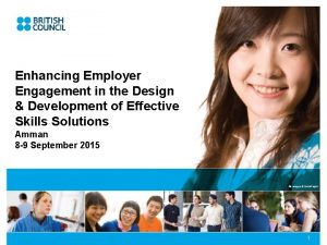 Enhancing Employer Engagement in the Design Development of