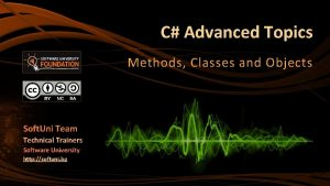 C Advanced Topics Methods Classes and Objects Soft