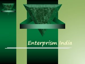 Enterprism India Enterprism India Business Concept o S
