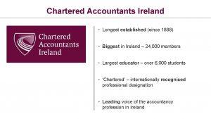 Chartered Accountants Ireland Longest established since 1888 Biggest