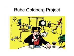 Rube Goldberg Project Rube Goldberg Paper Detail the