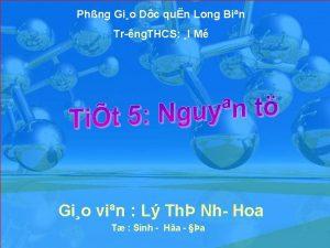 Phng Gio Dc qun Long Bin Tr ng