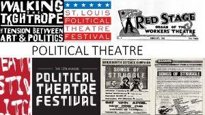 POLITICAL THEATRE INTRODUCTION Political theatre is a term