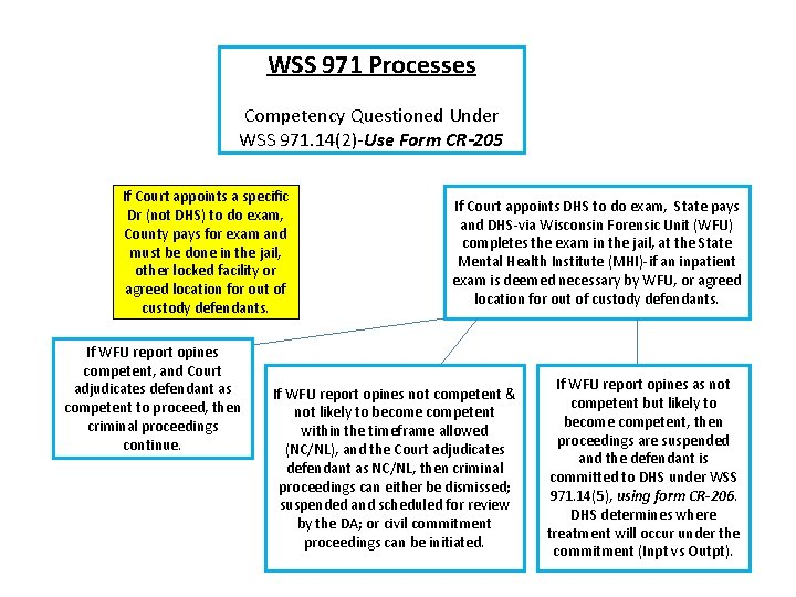 WSS 971 Processes Competency Questioned Under WSS 971