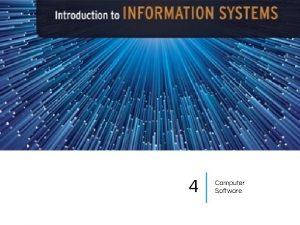 4 Computer Software Categories Computer Software System Software