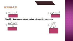SWBAT solve and create exponential equations using logs