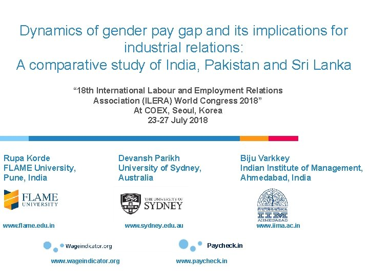Dynamics of gender pay gap and its implications