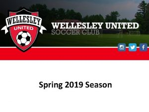 Spring 2019 Season Tonights Agenda BAYS Spring Season