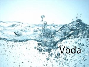 Voda Voda lovek sa s vodou stretva od