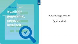 Personele gegevenslevering Scholen conform Wet Educatie en Beroepsonderwijs