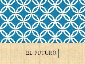 EL FUTURO CUNDO DEBES USAR EL FUTURO Debes