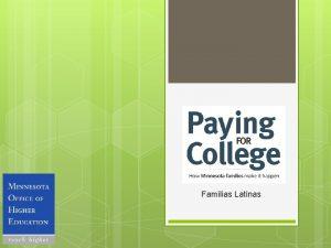 Familias Latinas Porque prepararte con una educacin superior