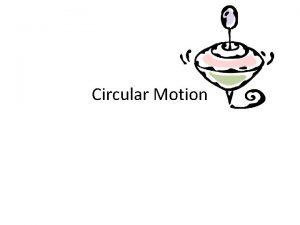 Circular Motion Rotation vs Revolution Rotation when an