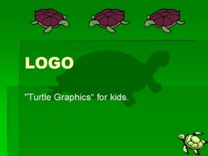 LOGO Turtle Graphics for kids History Logo from