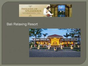 Bali Relaxing Resort tp Bali Relaxing Resort Spa