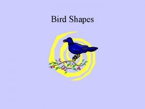 Bird Shapes Birds With A Crest Cardinal Cedar