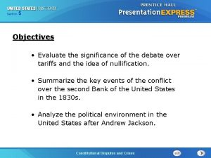 525 13 Section Chapter Section 1 Objectives Evaluate