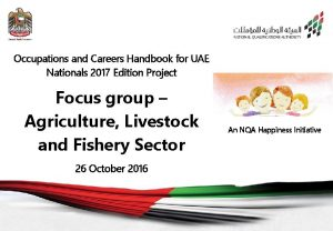 Occupations and Careers Handbook for UAE Nationals 2017