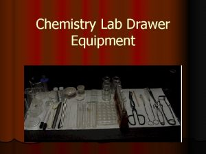 Chemistry Lab Drawer Equipment Chemistry Lab Cabinet l