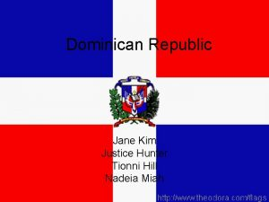 Dominican Republic Jane Kim Justice Hunter Tionni Hill